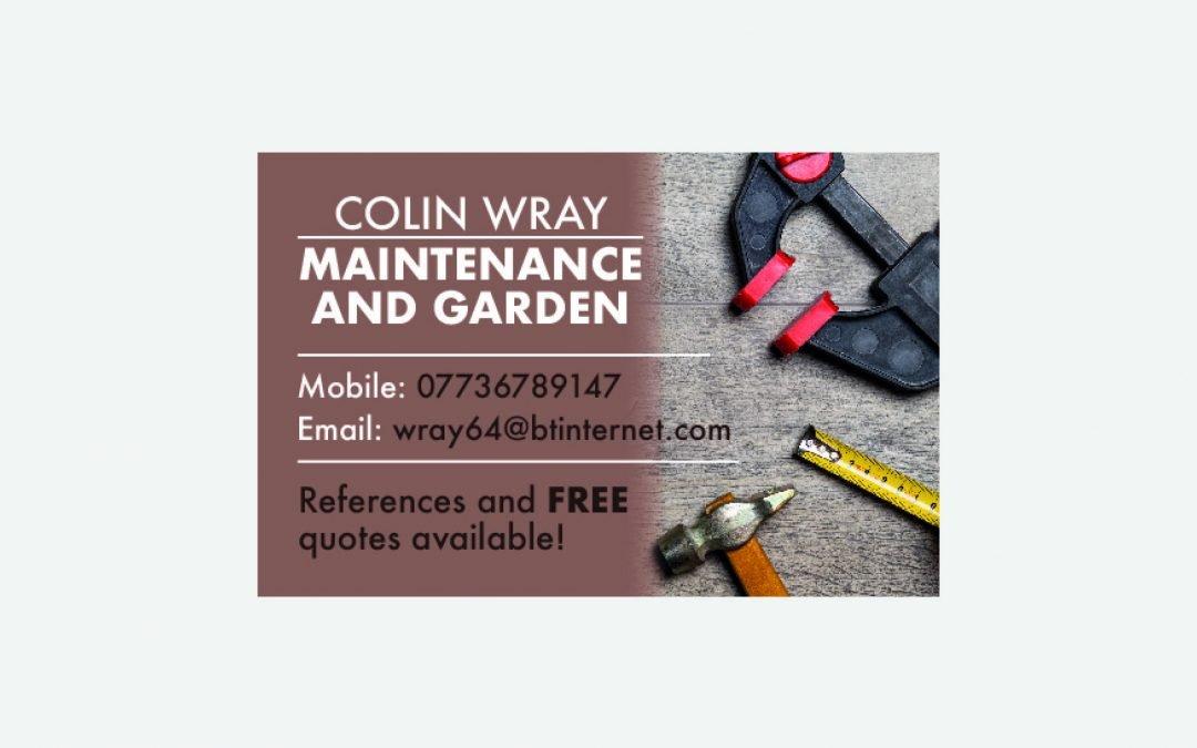Colin Wray Maintenance & Garden